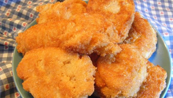 Southern Fried Cornbread Patties